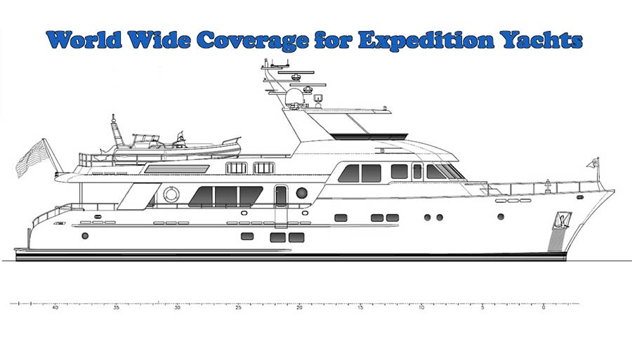 Expedition Yachts Insurance for Global Coverage